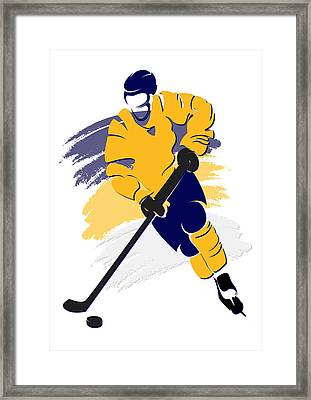 Predators Shadow Player2 Framed Print by Joe Hamilton
