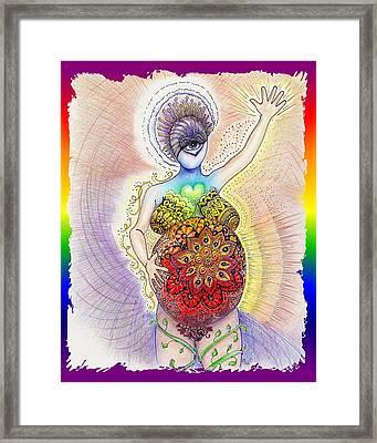 Pregnant Potentials Framed Print by Melinda DeMent