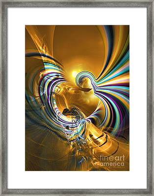 Prelude Of Colors - Surrealism Framed Print by Sipo Liimatainen
