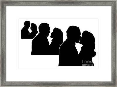 Prelude To A Kiss Framed Print by Peter Piatt