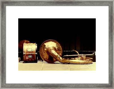 Prelude To New Orleans Jazz Framed Print by Michael Hoard