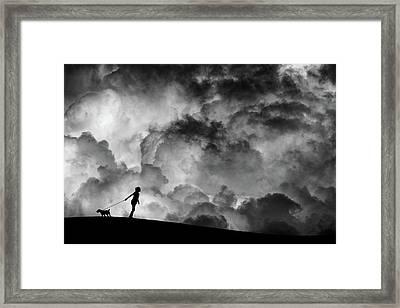 Prelude To The Dream Framed Print by Hengki Lee