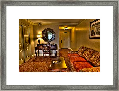 Premier Balcony Suite At The Sagamore Framed Print by David Patterson