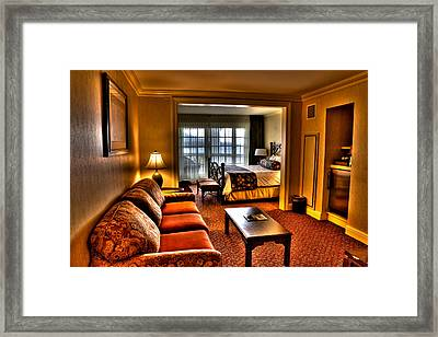 Premier Balcony Suite At The Sagamore Resort  Framed Print by David Patterson