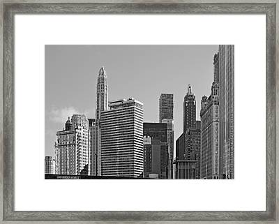 Premier Destination Chicago Framed Print by Christine Till