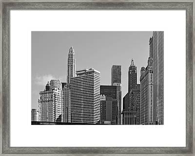 Premier Destination Chicago Framed Print by Christine Till