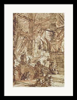 Basement Drawings Framed Prints