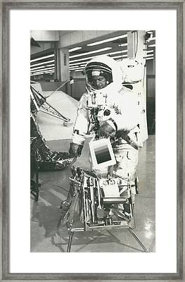 Preparing For Apollo 12 Lunar Mission Framed Print by Retro Images Archive