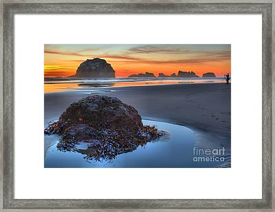 Preparing To Shoot Framed Print by Adam Jewell