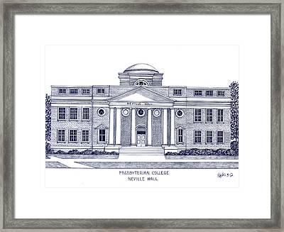 Presbyterian College Framed Print