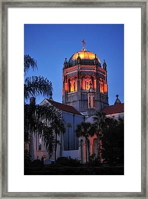 Presbyterian Memorial Church Framed Print