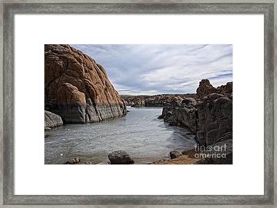 Prescott Arizona Winter Dells IIi Framed Print