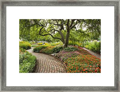 Prescott Park - Portsmouth New Hampshire Framed Print