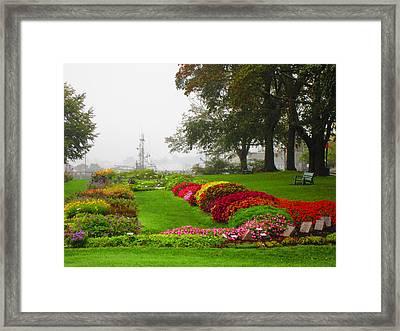 Prescott Park  Framed Print