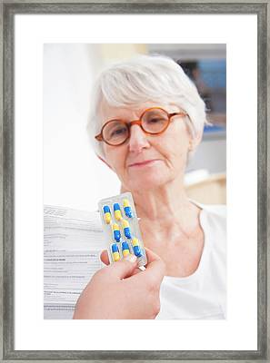 Prescription Medicine Framed Print