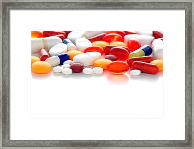 Prescriptions Framed Print by Olivier Le Queinec