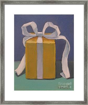 Present Series 4 Framed Print by Jennifer Boswell