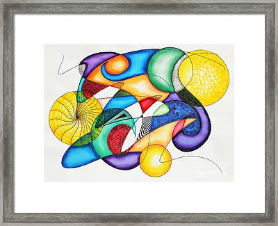 Present Framed Print by Shannan Peters