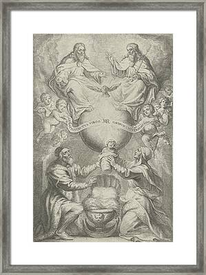 Presentation Of The Blessed Virgin Mary, Philip Fruytiers Framed Print