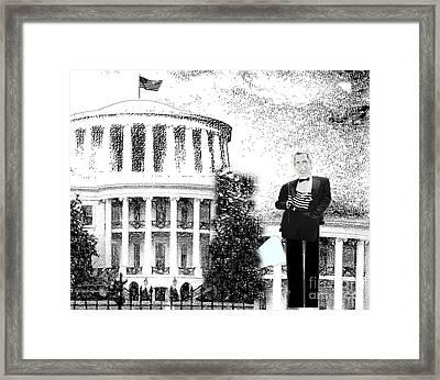 Presidential Framed Print by Belinda Threeths