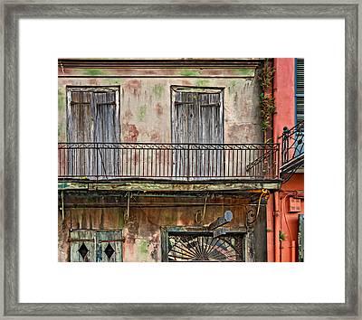Preservation Hall - Oil Framed Print by Steve Harrington
