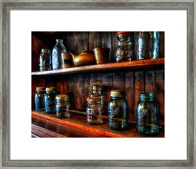 Preserving The Past Framed Print