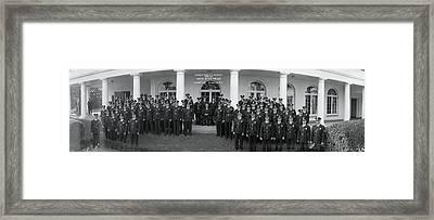 President Franklin D Roosevelt Framed Print by Fred Schutz Collection