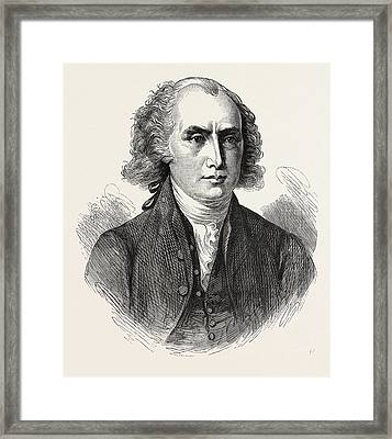 President Madison, He Was An American Statesman Framed Print by American School