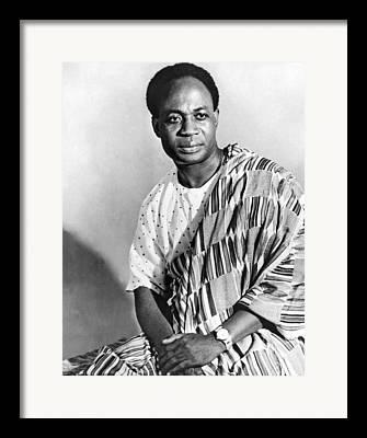 Kwame Framed Prints