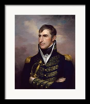 William Henry Harrison Framed Prints