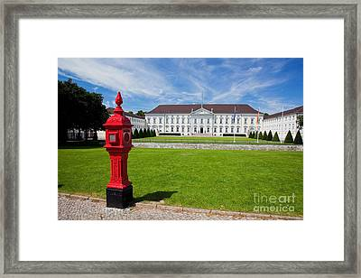 Presidential Palace Berlin Germany Framed Print