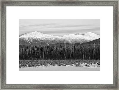 Presidential Range - Pondicherry Wildlife Refuge New Hampshire Framed Print