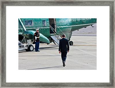 Presidential Swag Framed Print