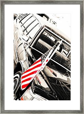 Presidents Limo - Mike Hope Framed Print