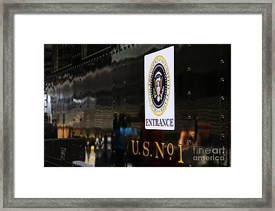 President's Train  Framed Print by Andres LaBrada
