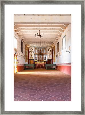 Presidio Chapel Framed Print