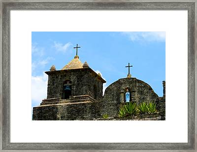 Presidio La Bahia Framed Print by David  Norman