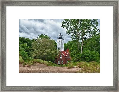 Presque Isle 12079 Framed Print