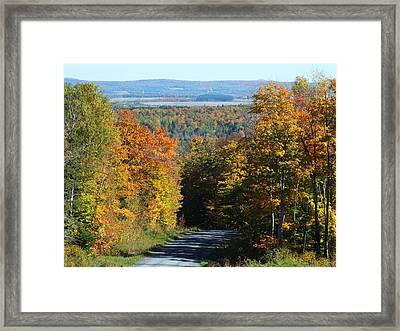 Presque Isle View Framed Print