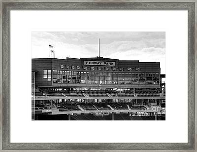 Press Box Framed Print