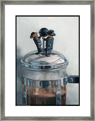 Press Event Framed Print by Diana Moses Botkin