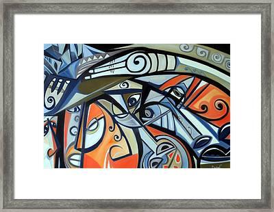 Pressure Framed Print by Dawson Taylor