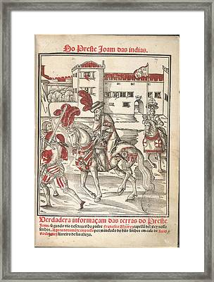 Prester John Framed Print by British Library
