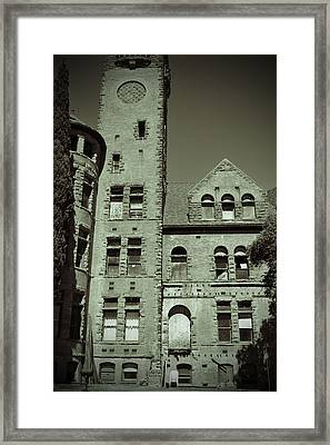 Preston Castle Tower Framed Print