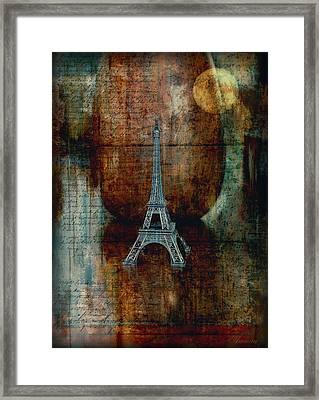 Pretending Framed Print by Maria Angelica Maira