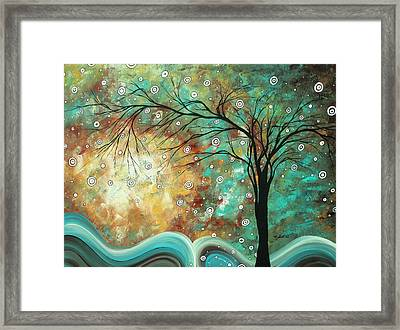 Pretty As A Picture By Madart Framed Print by Megan Duncanson