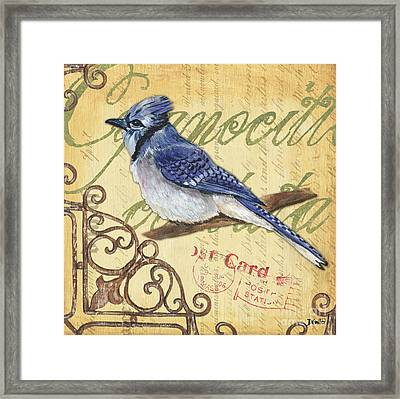 Pretty Bird 4 Framed Print by Debbie DeWitt