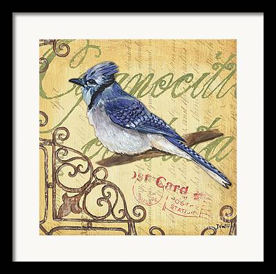 Blue Jay Framed Prints
