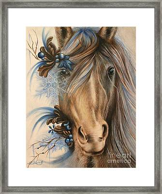 Pretty Blue Framed Print by Sheena Pike