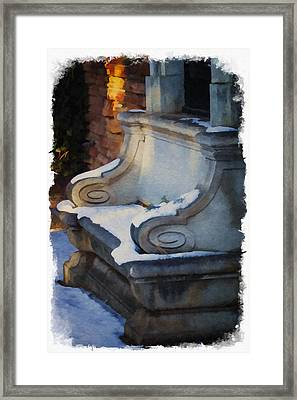 Pretty But Not Inviting Framed Print by Priscilla Burgers
